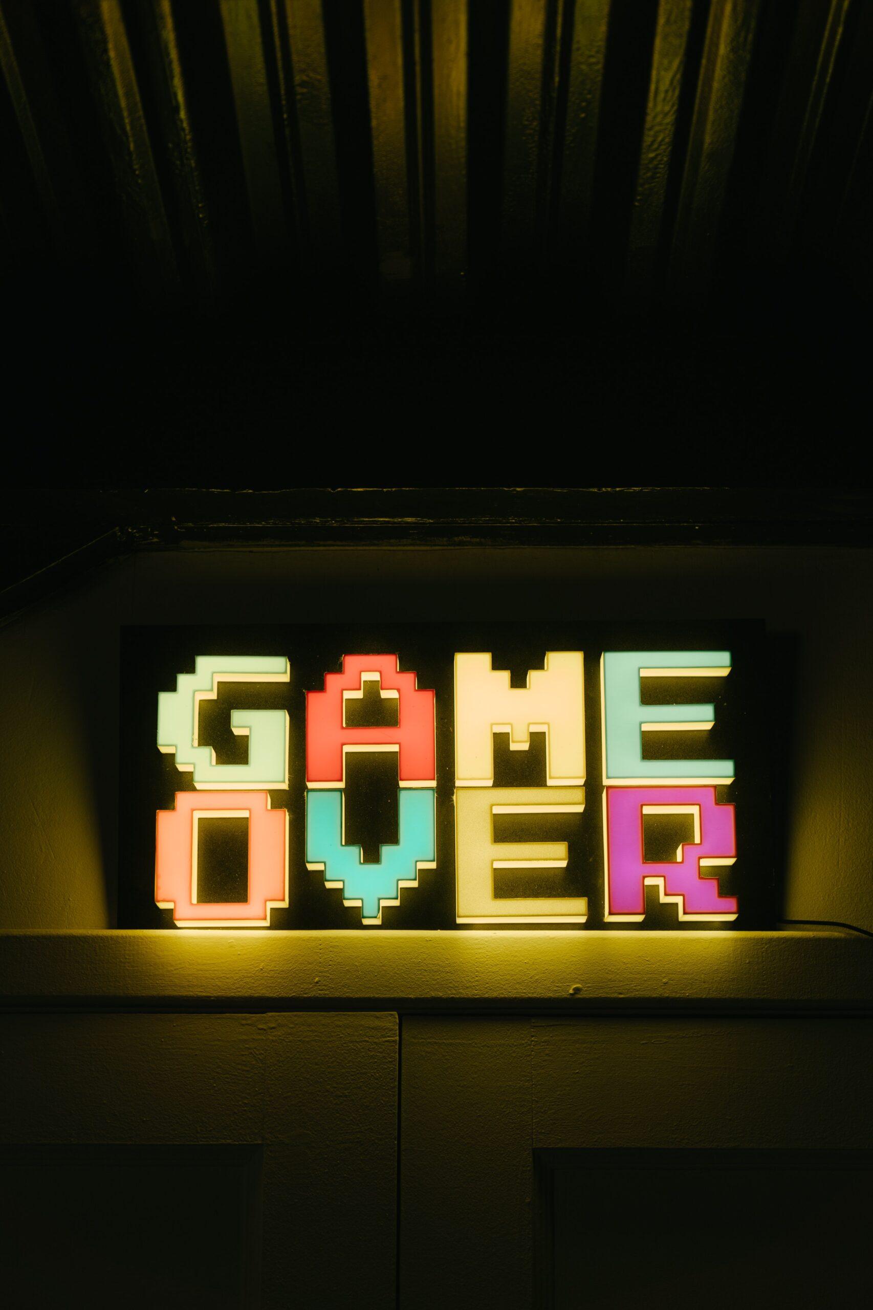 Game Over Reklamme