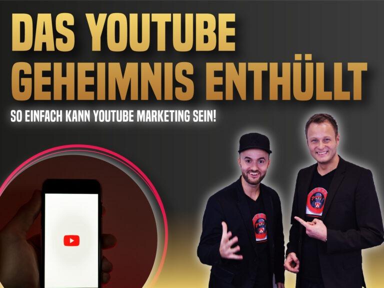 Das YouTube Geheimnis endlich offenbart!